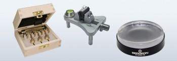 02 Werkzeug für Uhrwerk, Untersatz, Werkhalter, Hemmungsprüfung, Rundlauf, Werkzeug Kit