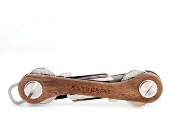 Keykeepa Nussbaum für bis zu 12 Schlüssel, braun