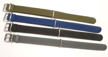 Nato Perlonband schwarz 18mm