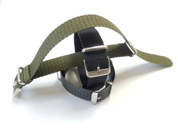 Nato Perlonband nato-grün 20mm
