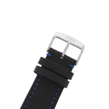 SELVA Herren-Armbanduhr »Ramon« - Sonne/Mond - skelettiert - Blue-Motion