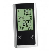 Thermomètre radiopiloté