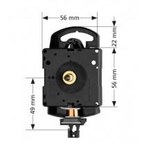 Quarz-Pendeluhrwerk Hermle 2200, ZWL 16mm