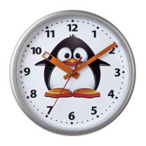 Horloge murale pingouin