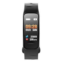 Fitness Tracker, noir, avec écran couleur
