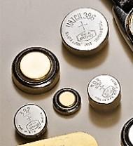 1,5 V Silberoxyd-Knopfzellen