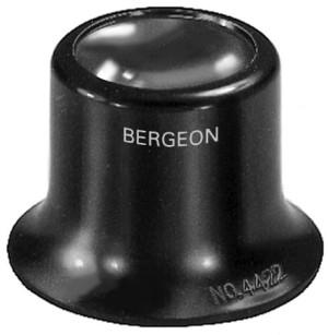 Uhrmacherlupe 5x Bikonvexe Linse Bergeon