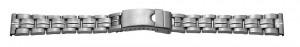 Metallband Edelstahl 20mm Stahl poliert/sandgestrahlt