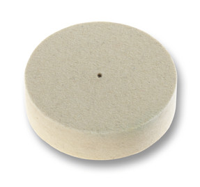 Filzscheibe weiß Ø 70 mm