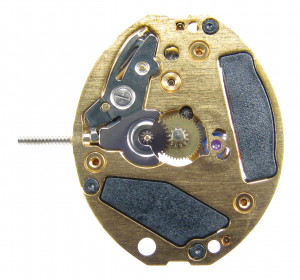 Kleinuhrwerk Quarz ETA 901.001 Gold, Std.-H 1,00 Standard