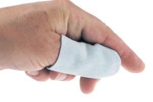 Fingerlinge aus Leder Größe 4