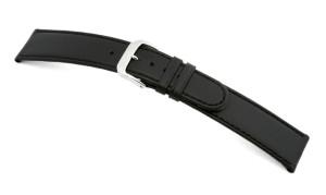 Lederband Louisville 14mm schwarz glatt
