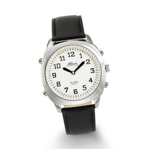 Atlanta 8908/19 silver talking watch