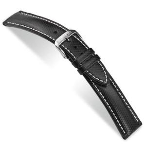 Hightechband Katu wasserfest, 18mm schwarz