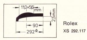 Verre XS 292.117