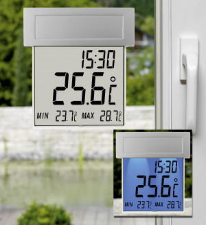 TFA Solar-Fensterthermometer