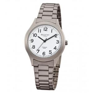 REGENT titanium watch, men