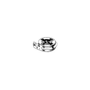 Triebfeder mit Endloch L:1350mm B:19mm Stärke:0,4mm für Federhaus-Ø:37mm