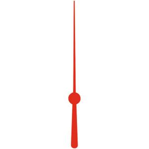 Sekundenzeiger, 52 mm, rot