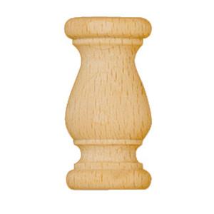 Gedrechselte Holzzierteile