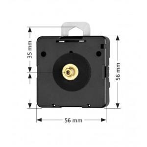 Quarz-Uhrwerk Junghans 838, ZWL 16mm, Rückwärtsläufer