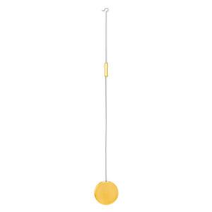 Pendel für französische Pendulen L: 200mm Pendelscheibe Ø 28 mm