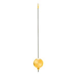 Pendel für französische Pendulen L: 240mm Pendelscheibe Ø 35 mm