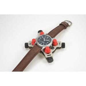 Gehäusehalter für Armbanduhren sowie Einsteckwerke