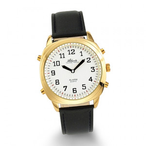 Atlanta 8908/9 gold talking watch