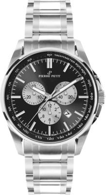 Chronographe Pierre Petit Le Mans noir Swiss Made