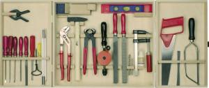 Profi-Werkzeugschrank, 30 Teile