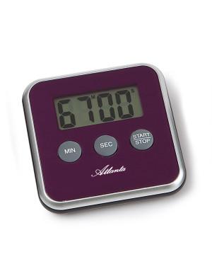 Atlanta 239/8 Kurzzeitmesser magnetischer Einsatz violett