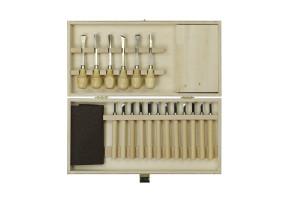 Schnitz-Set in Werkzeugbox