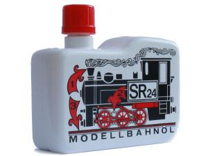 Dampf- und Reinigungsöl SR24 - Modellbauöl - 120 ml