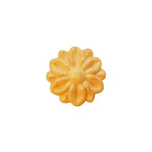 Fleurs d'ornement en bois Ø 16 x 5mm