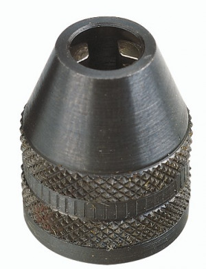 PROXXON Three-jaw steel drill chuck
