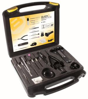 Werkzeugkoffer zum Batterie- und Bandwechsel Bergeon