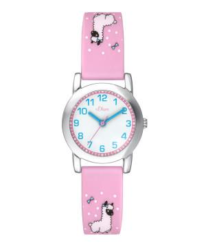 s.Oliver bracelet de montre silicone rose SO-3611-PQ