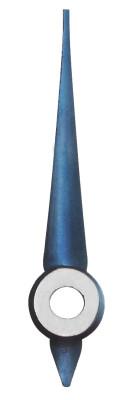 Minutenzeiger Regatis blau, Loch Ø 0,7 Länge 6,0 mm