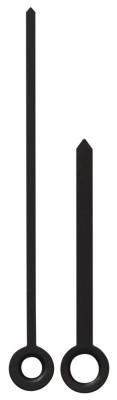 Zeigerpaar Funk Balken schwarz Minutenzeiger-L:62mm