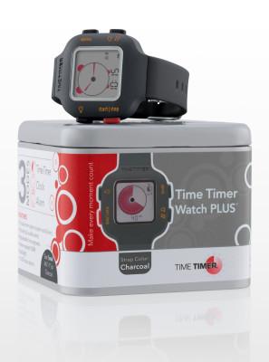 Time Timer montre-bracelet, noir