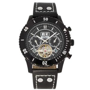 SELVA Montre-bracelet d'homme »Vito« - Grand Date - noir