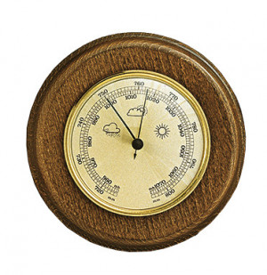 Barometer Made in Germany, Eiche