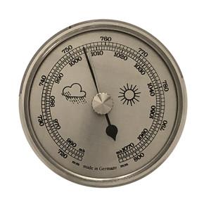 Barometer Einbau-Wetterinstrument Ø 85mm, silber