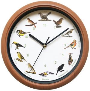 SELVA Horloge avec chant d'oiseau