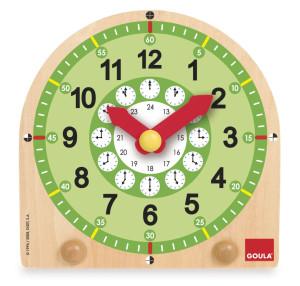 GOULA Horloge d'apprendre le temps