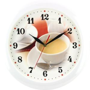 Quartz wall clock coffee