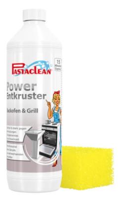 Pastaclean Power Entkruster für Backenofen und Grill, 1 Liter, inkl. Zubehör