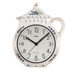 Atlanta 6025 Kitchen clock radio-controlled cream