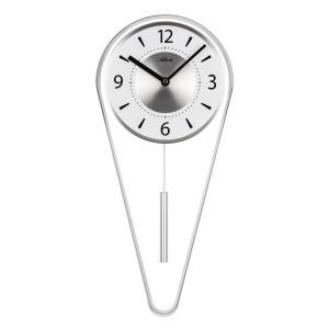 Atlanta 5008/19 Pendulum clock quartz silver